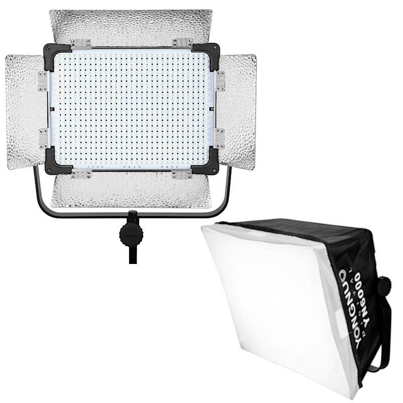 Lampa LED YN-6000 KIT 3200–5500K